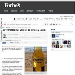 Las 10 marcas más valiosas de México y Latam