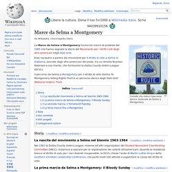 Marce da Selma a Montgomery