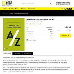 Arbeidsmarktcommunicatie van A/Z.