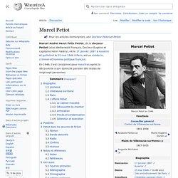 Wikipédia Marcel Petiot