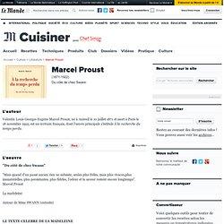 Marcel Proust (1871-1922) - Du côté de chez Swann
