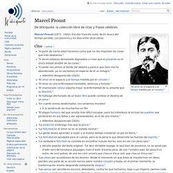 Marcel Proust - Wikiquote