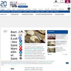 Bactérie E.coli: Des Saint Marcellin et Saint-Félicien rappelés après la contamination de 13 enfants