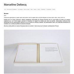 Marcelline Delbecq » Blog Archive » Marcelline Delbecq.