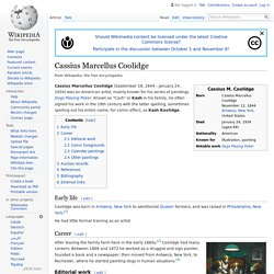 Cassius Marcellus Coolidge - Wikipedia