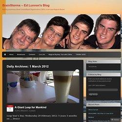 BrainStorms - Ed Lunnon's Blog