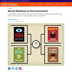 March Madness in the Classroom?