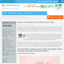 March for Women: The Power of self-care!