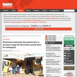 Marchands ambulants de produits bio, le nouveau visage de l'économie sociale dans les campagnes