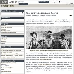 1930-Kessel sur la trace des marchands d'esclaves au Yemen