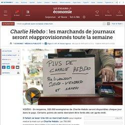 Charlie Hebdo : les marchands de journaux seront réapprovisionnés toute la semaine