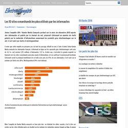 Les 10 sites e-marchands les plus utilisés par les internautes
