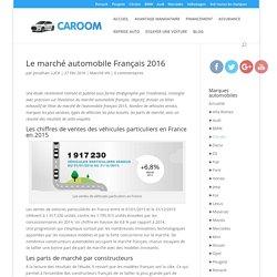 Le marché automobile Français 2016