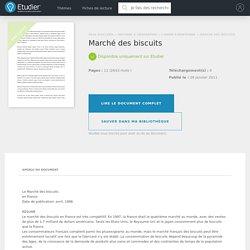 Marché des biscuits - Compte Rendu - Mariekiki76