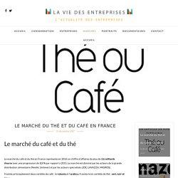 Le marché du café et du thé en France - La vie des entreprises