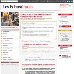 Le marché et la distribution de chaussures en France