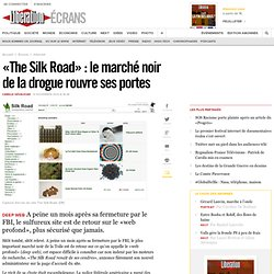 «The Silk Road» : le marché noir de la drogue rouvre ses portes