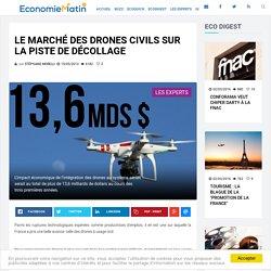 Le marché des drones civils sur la piste de décollage