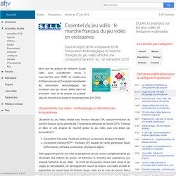 Le marché français du jeu vidéo en croissance