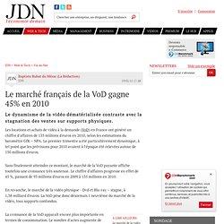 Le marché français de la VoD gagne 45% en 2010
