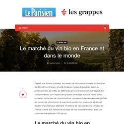 Le marché du vin bio en France et dans le monde - Les Grappes x Le Parisien