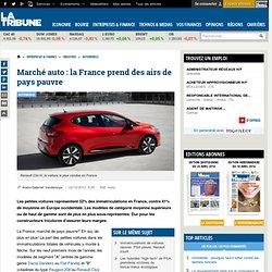 Marché auto : la France prend des airs de pays pauvre
