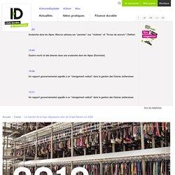 Le marché de la fripe dépassera celui de la fast fashion en 2028