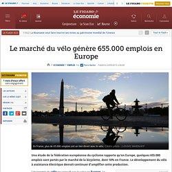 Le marché du vélo génère 655.000 emplois en Europe