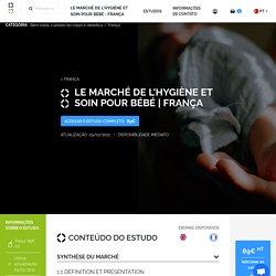 Le marché de l'hygiène et soin pour bébé - França