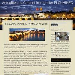 La marché immobilier à Mâcon en 2016
