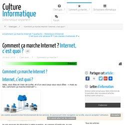 comment ça marche Internet ? Fonctionnement d'internet.