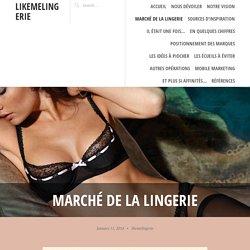 Marché de la lingerie – likemelingerie