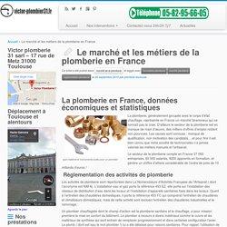 Le marché et les métiers de la plomberie en France