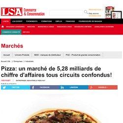 Pizza: un marché de 5,28 milliards de chiffre... - pizzas