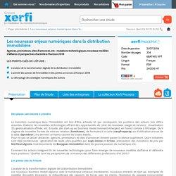 Etude de marché enjeu numerique dans immobilier Xerfi