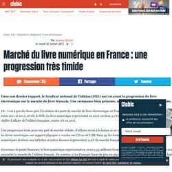 clubic.com. Marché du livre numérique en France : une progression très timide