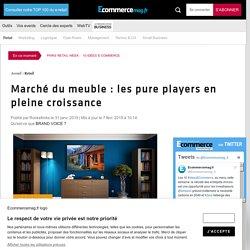 Marché du meuble : les pure players en pleine croissance