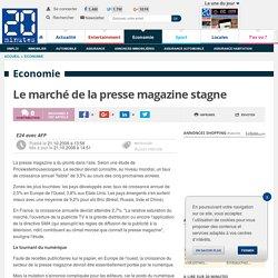 Le marché de la presse magazine stagne