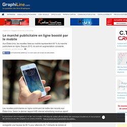 Le marché publicitaire en ligne boosté par le mobile