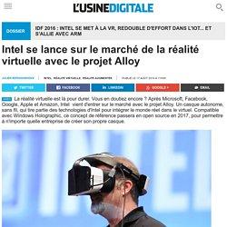 intel et réalité virtuelle : le projet alloy