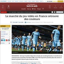 Le marché du jeu vidéo en France retrouve des couleurs