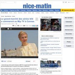 Le grand marché des séries télé a commencé au Mip TV à Cannes