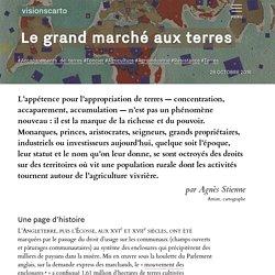 Le grand marché aux terres - Agnès Stienne - Visionscarto