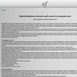 Marché-Système