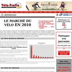 le marché du vélo en 2010