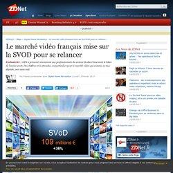 Le marché vidéo français mise sur la SVOD pour se relancer - ZDNet