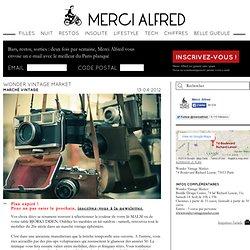 Marche vintage paris Wonder Vintage Market - Lifestyle