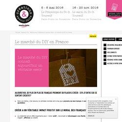 Le marché du Do It Yourself en France - salon du loisir créatif !