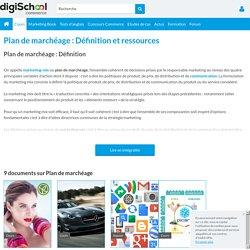 PLAN DE MARCHEAGE : Définition marketing du plan de marchéage