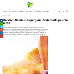 Marcher 30 minutes par jour : 5 bienfaits pour la santé